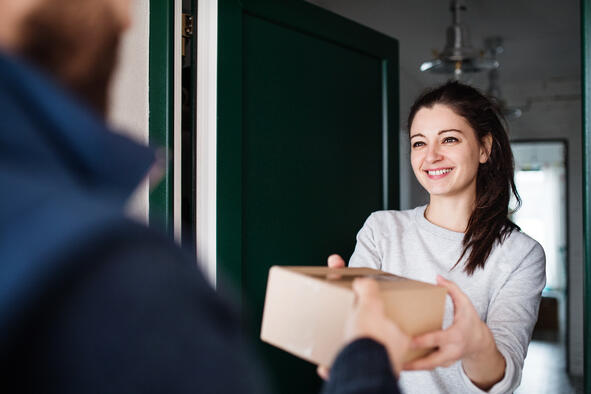 Swiss online shoppers prefer home delivery
