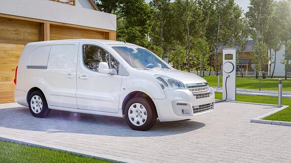 delivery with completely electric vehicles