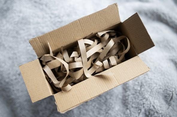 Nachhaltige Verpackung Packet
